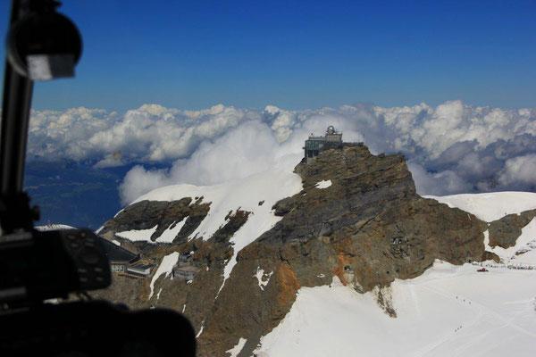 Helikopterflug Jungfraujoch ab Grenchen