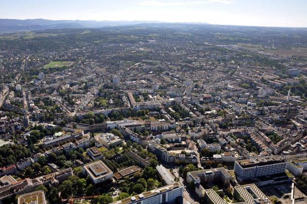 Basel Stadt Rundflug