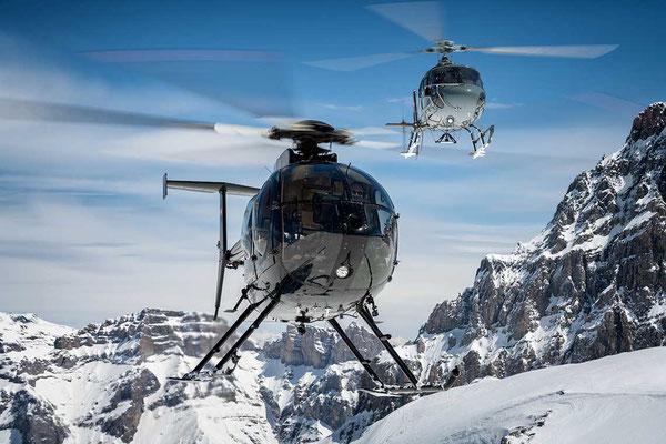 Helikopter Schindellegi