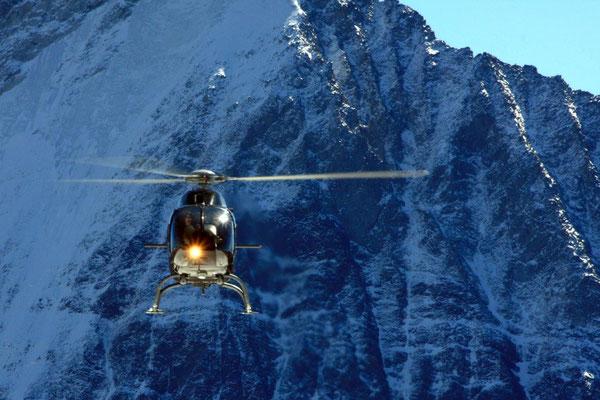 Jungfraujoch Rundflug