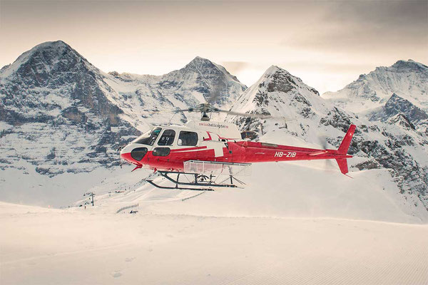 Helikopterflug ab Gsteigwiler