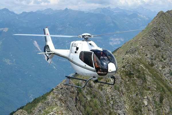 Helikopterflug Tessin