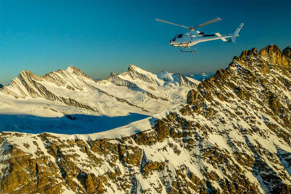 Helikopter Rundflug Alpen