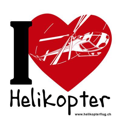 I Love Helikopterflug