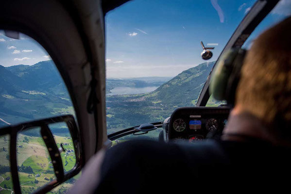 Helikopter Cockpit