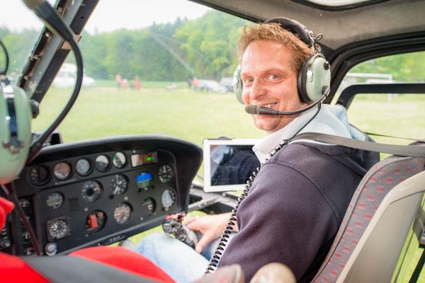 Helikopter selber fliegen ab St. Gallen Altenrhein