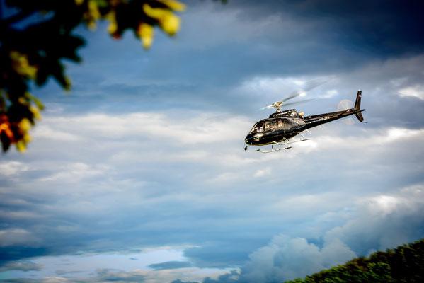 Helikopter Rundflug ab Sitterdorf