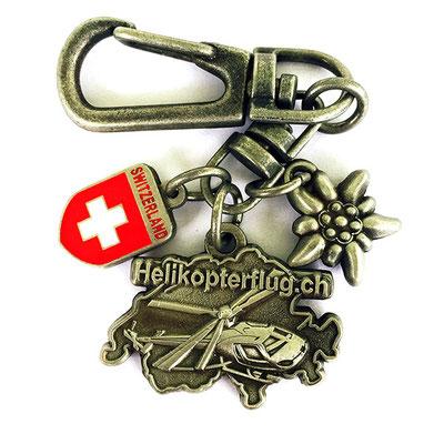Schlüsselanhänger Helikopter