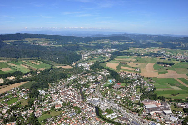 Laufen Richtung Basel