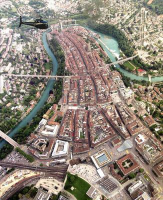 Bern City Helikopter rundflug