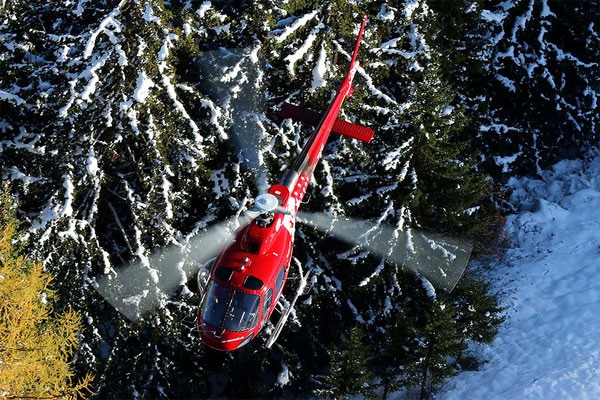 Raron Helikopterflug