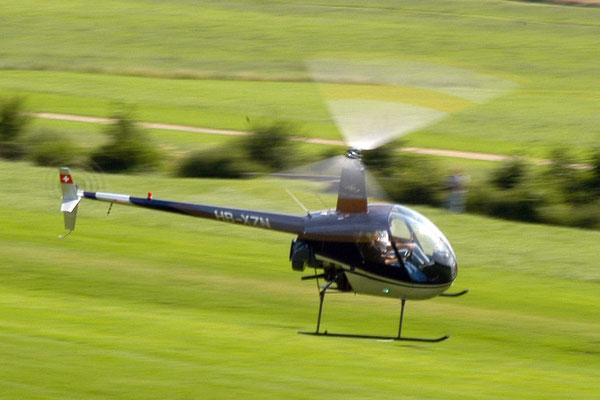 Pilot Helikopter selber fliegen ab St. Gallen Altenrhein