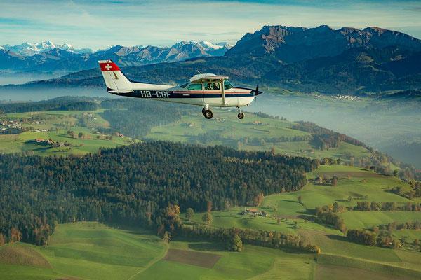 Flugzeugflug Luzern