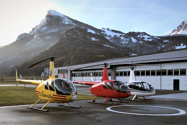 Helikopter Basis Balzers