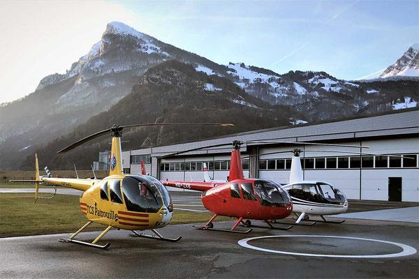Helikopter Basis Balzers