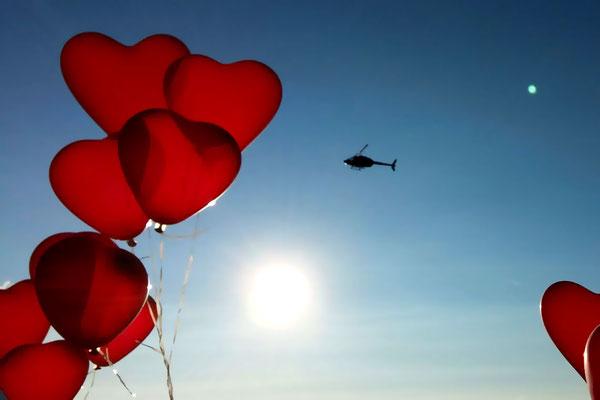 Romantik Helikopterflug