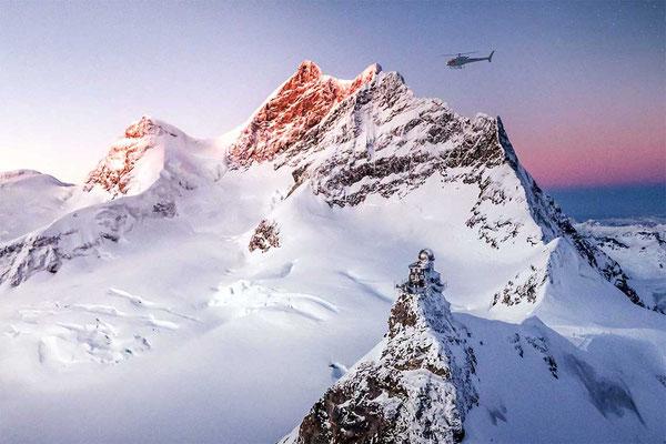 Helikopter Jungfraujoch