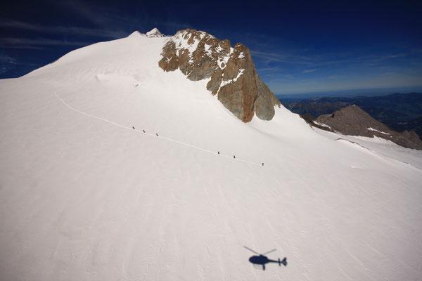 Alpenrundflug Helikopter ab Gstaad