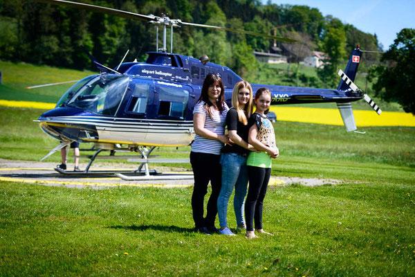 Helikopterrundflug ab Grenchen