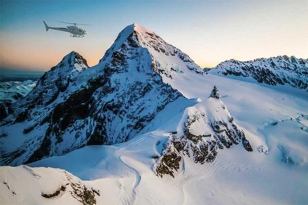 Eiger, Mönch und Jungfraujoch Rundflug