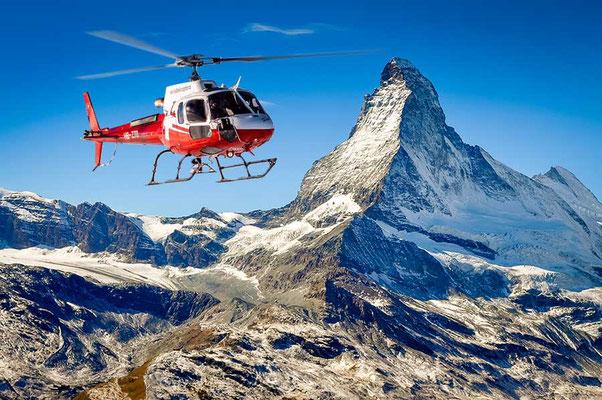 Matterhorn Rundflug Gsteigwiler