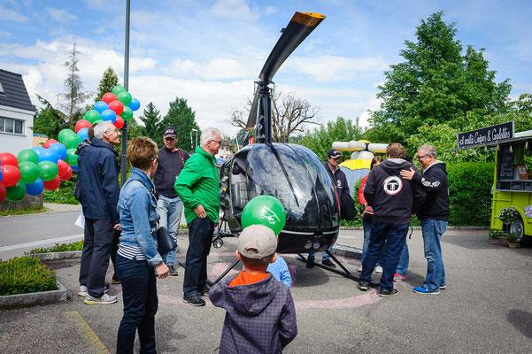 Helikopter Robinson zum anfassen