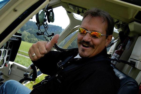 Fluggast Helikopter Rundflug