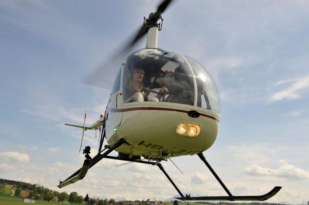 Helikopter Robinson R22