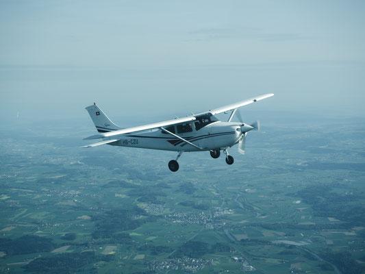 Sportflugzeug Cessna