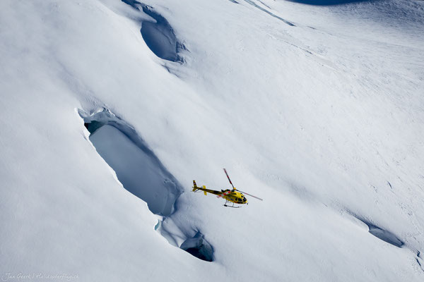 Alpenrundflug Hubschrauber