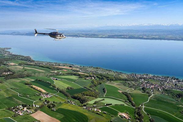 Helikopterrundflug Bielersee