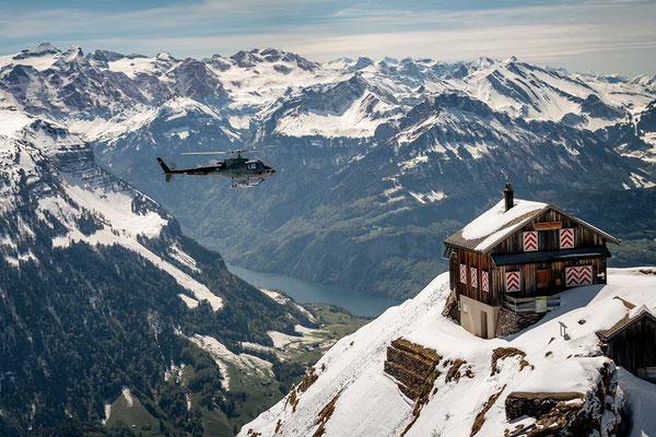 Helikopterrundflug Schindellegi
