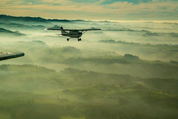 Rundflug Flugzeug