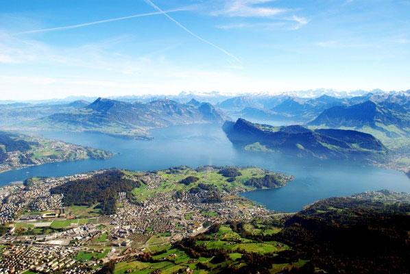 Helikopterrundflug ab Zürich