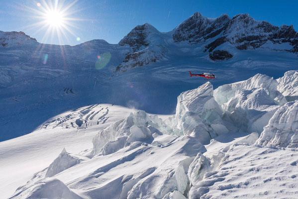 Gletscher Rundflug