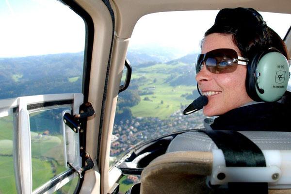 Fluggast Cockpit