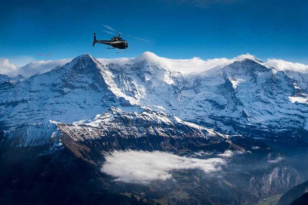 Rundflug Jungfraujoch Region