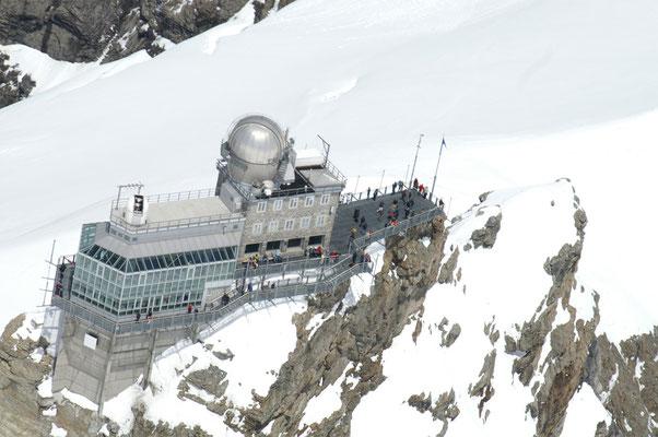 Jungfraujoch Alpenrundflug ab Gstaad