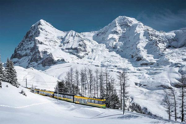Jungfrau Bahn Winter