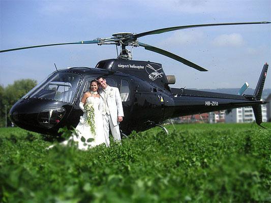 Exklusiver Helikopter Rundflug