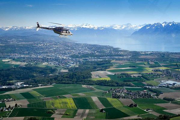 Helikopterflug ab Grenchen