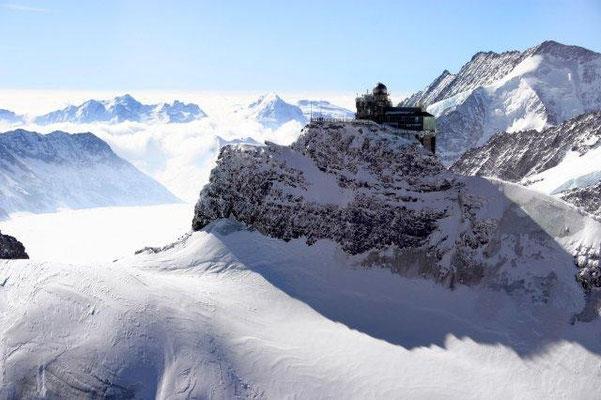 Helikopterflug Jungfraujoch ab Luzern