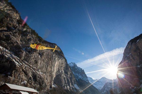 Fotographie bei Helikopterflug