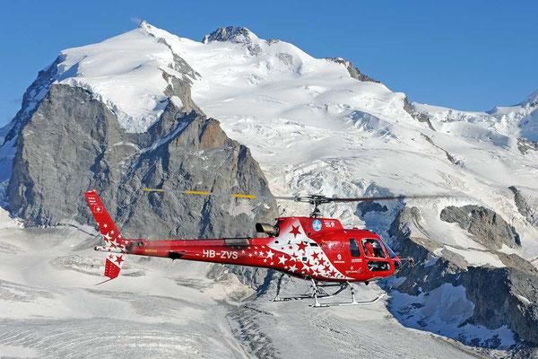 Alpenrundflug ab Raron