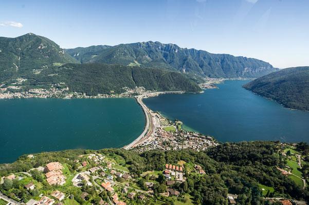 Helikopterflug Lugano