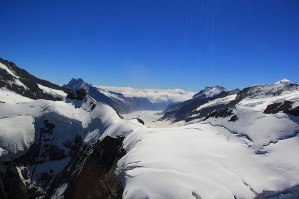 Alpenrundflug Hubschrauber ab Gstaad