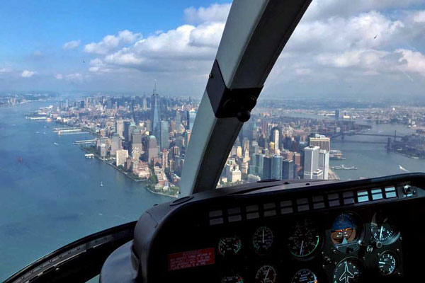 Helikopterrundflug New York