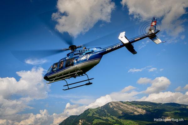 Helikopterstart Bell 407