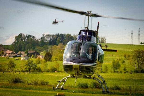 Helikopterrundflug ab Luzern-Beromünster