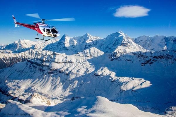 Jungfrau Region Rundflug